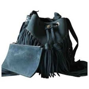Sandro Adel Suede bag- BRAND NEW